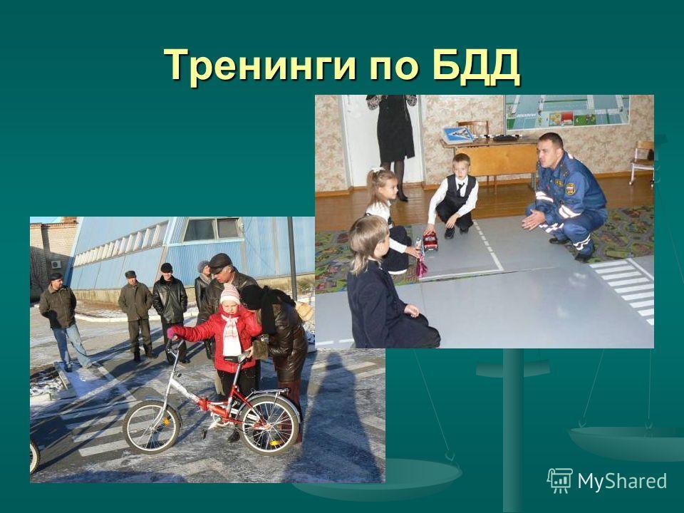 Тренинги по БДД