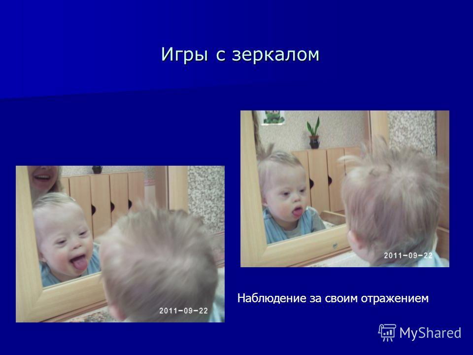 Игры с зеркалом Наблюдение за своим отражением