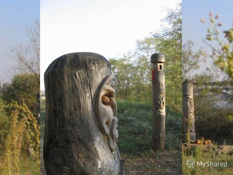 О. Хортица. Реконструкция святилища Перуна