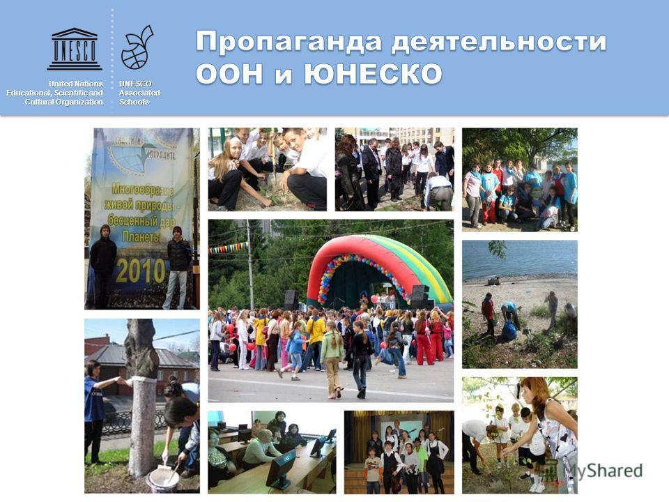 United Nations Educational, Scientific and Cultural Organization UNESCOAssociatedSchools