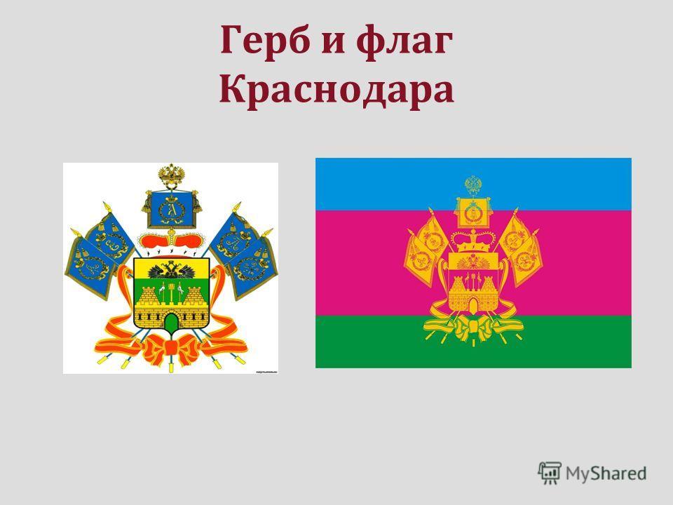Герб и флаг Краснодара