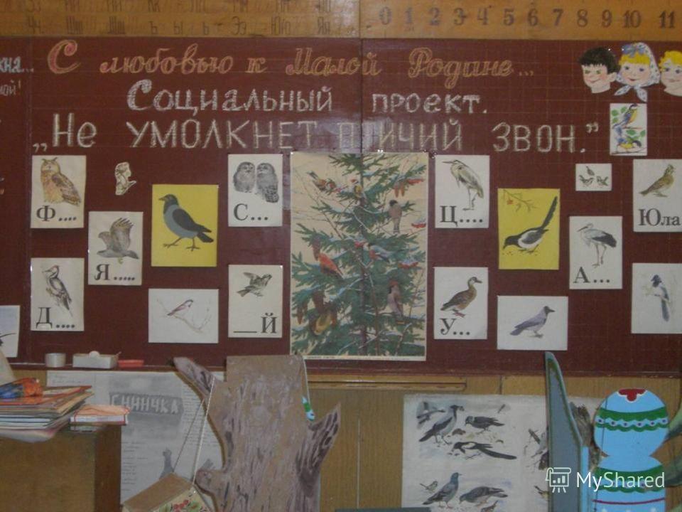 МОУ Старская средняя общеобразовательная школа Социальный проект учеников и родителей 1 – а класса. Тема: Старь -2006
