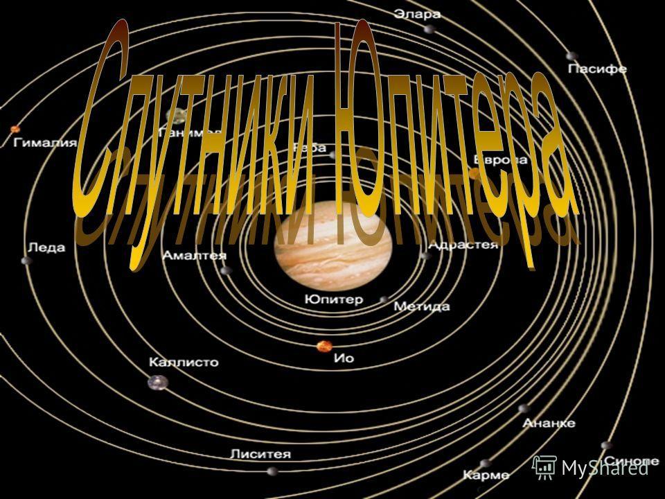 К началу третьего тысячелетия у Юпитера известно 28 спутников.