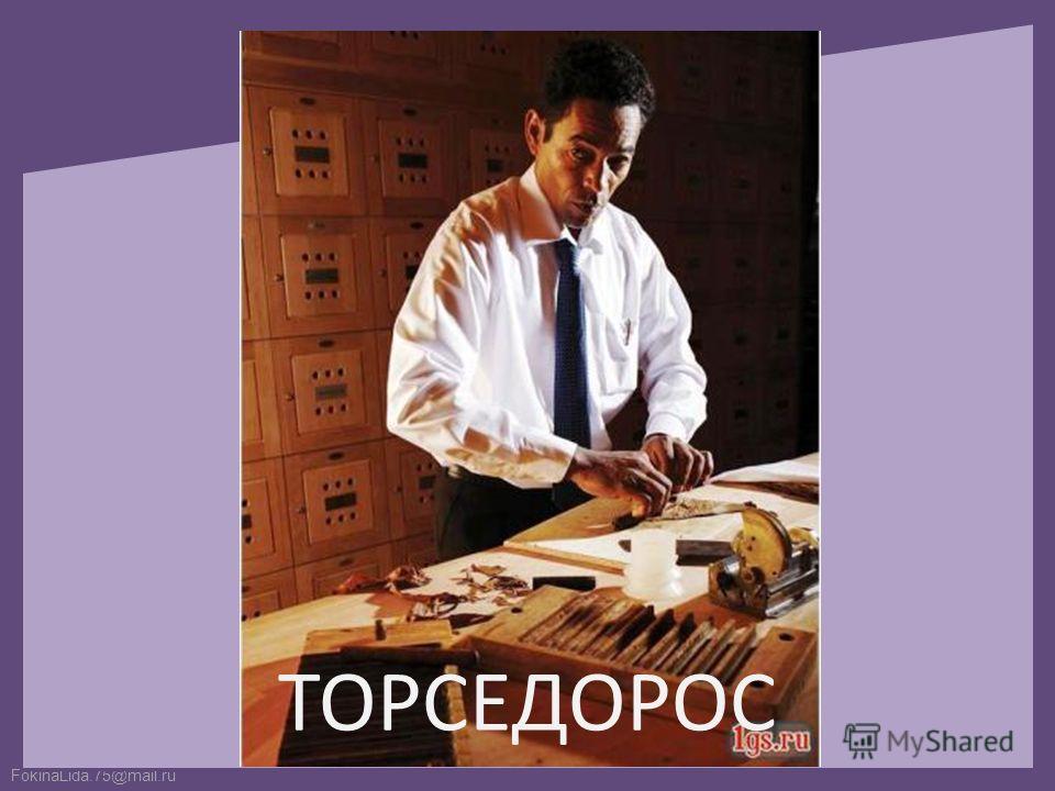 FokinaLida.75@mail.ru ТОРСЕДОРОС