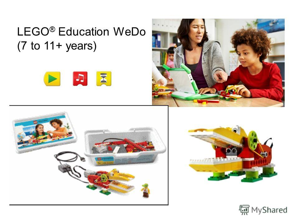 LEGO ® Education WeDo (7 to 11+ years)