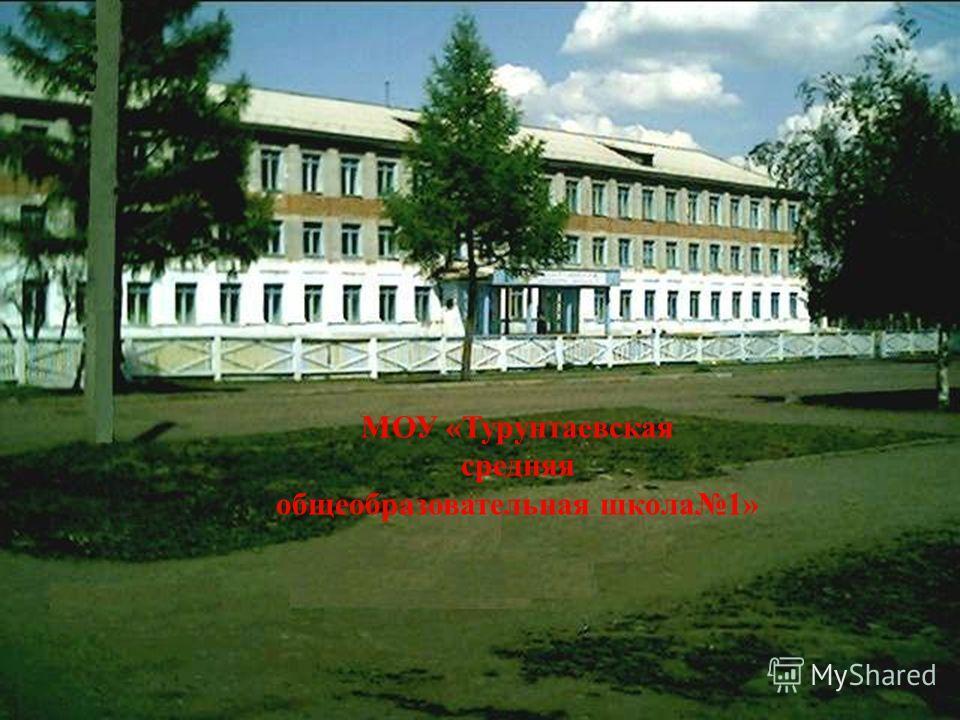 МОУ «Турунтаевская средняя общеобразовательная школа1»