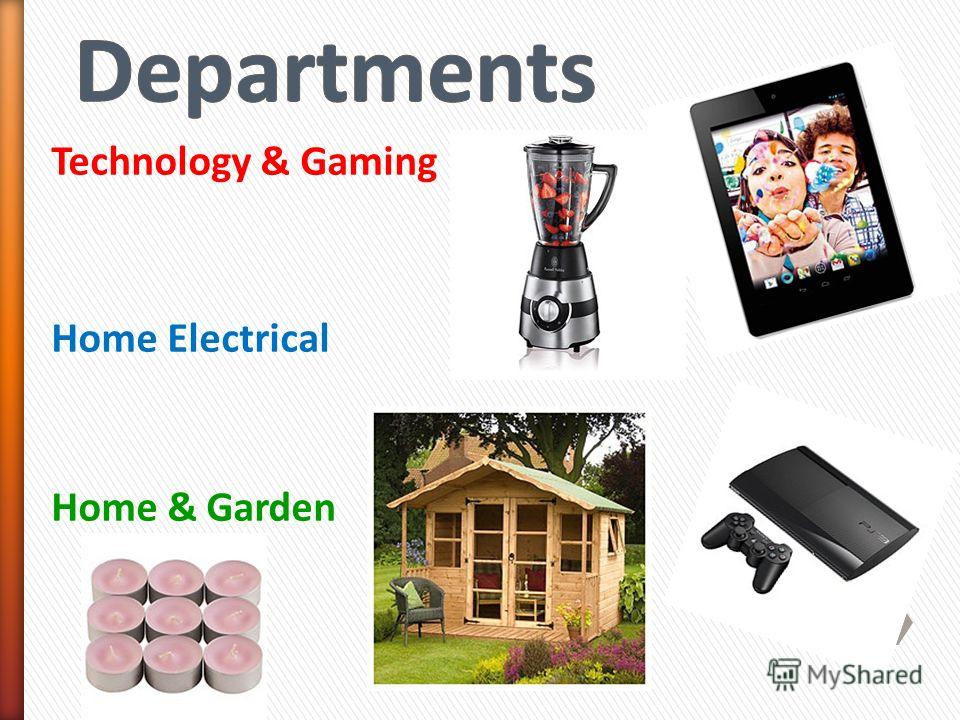 Technology & Gaming Home Electrical Home & Garden