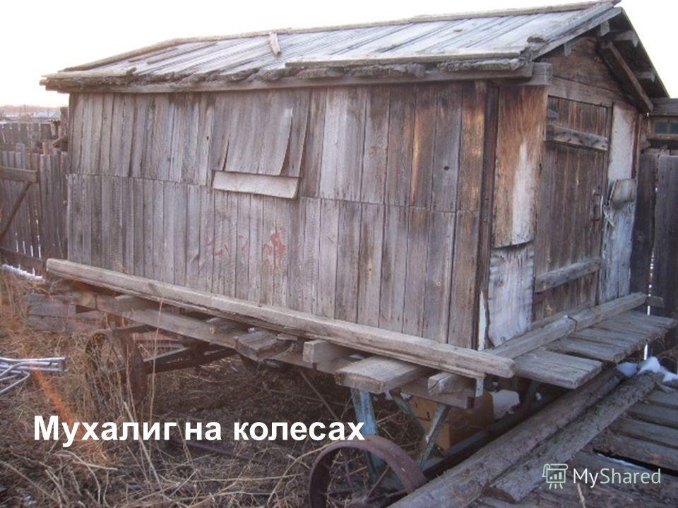 Мухалиг на колесах