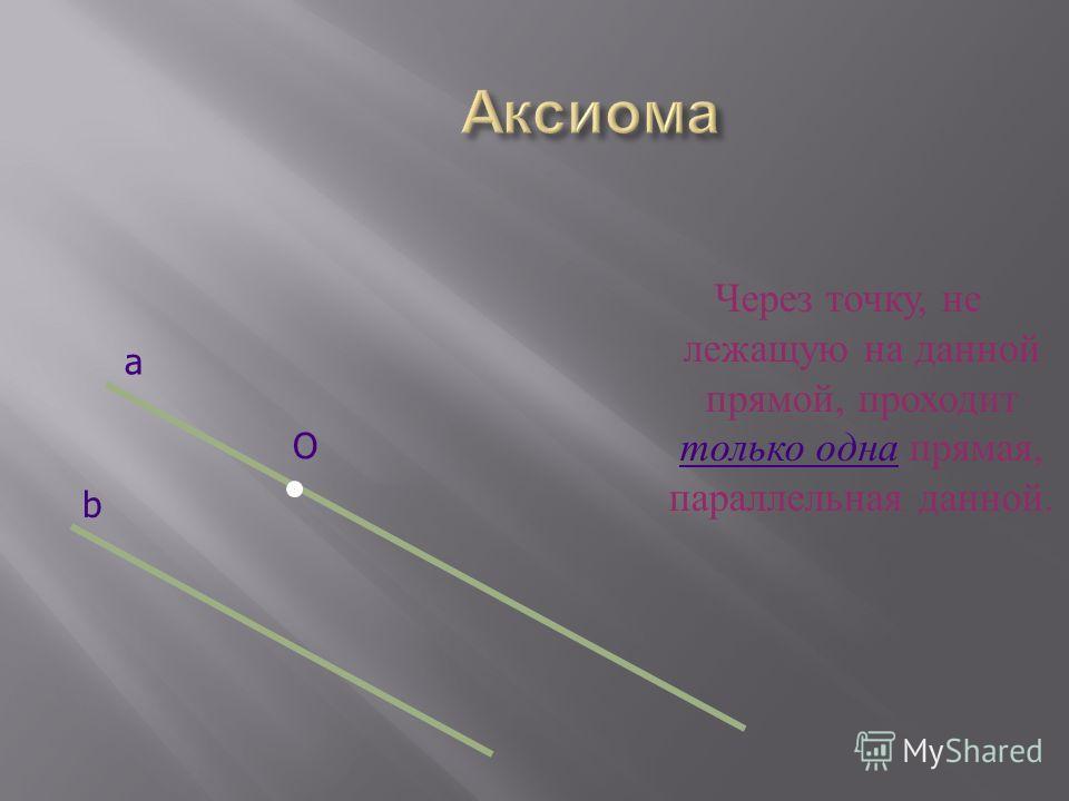 Аксиома – утверждение, не требующее доказательств Само слово « аксиома » происходит от греческого «аксиос», что означает «ценный, достойный». Древнегреческий ученый Евклид первым придумал аксиомы, которые были изложены в его знаменитом сочинении «Нач