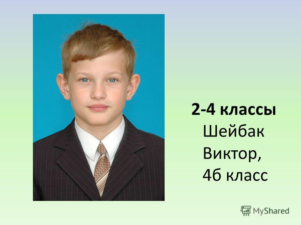 2-4 классы Шейбак Виктор, 4б класс