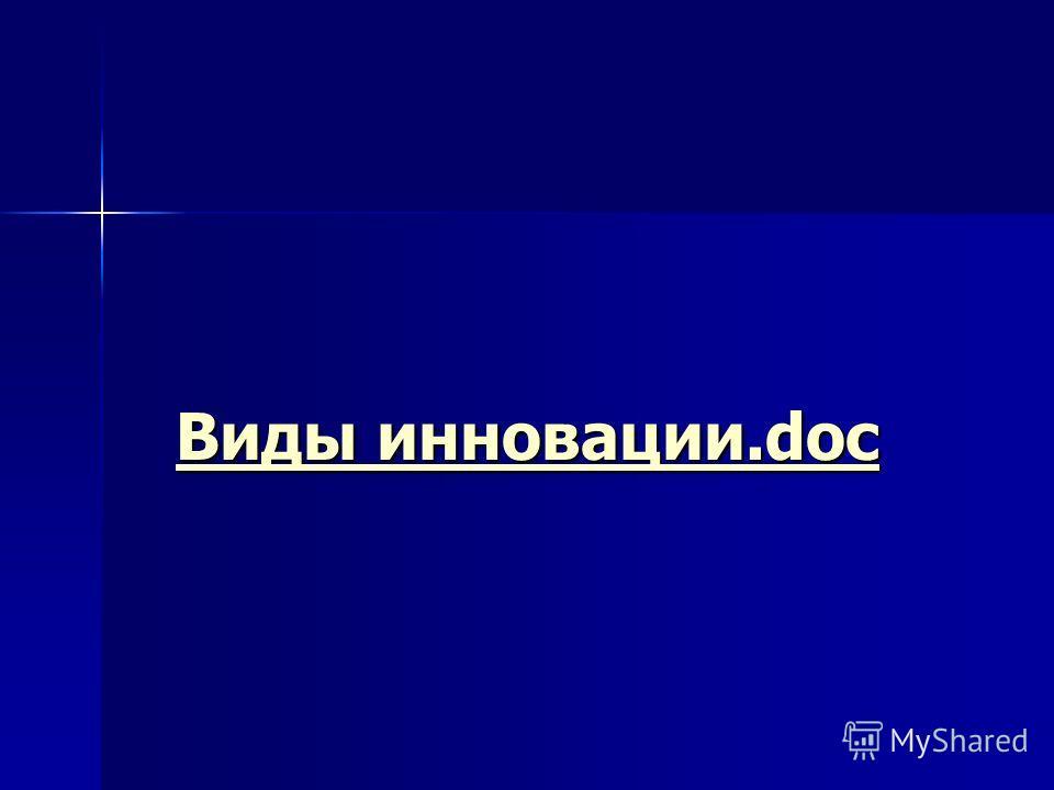 Виды инновации.doc Виды инновации.doc