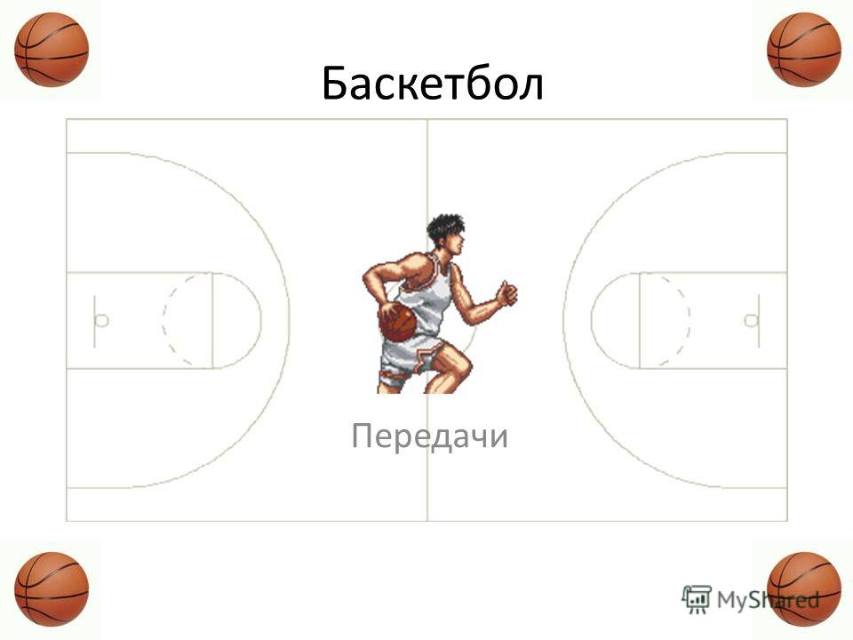 Баскетбол Передачи
