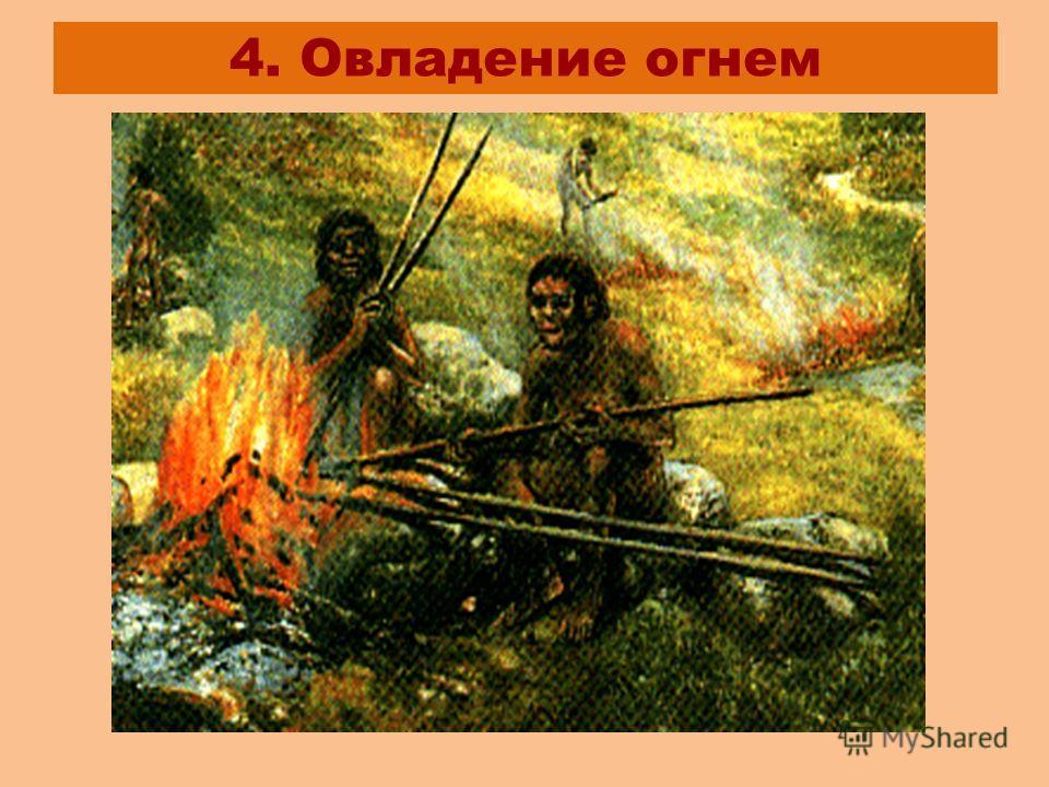4. Овладение огнем