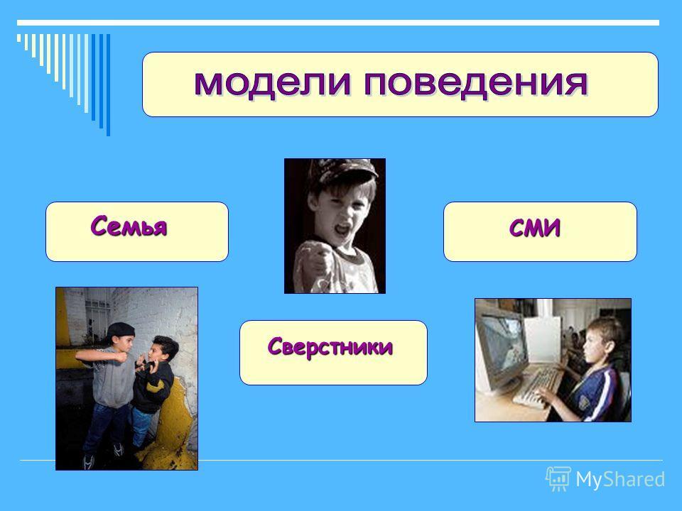 Семья Сверстники СМИ