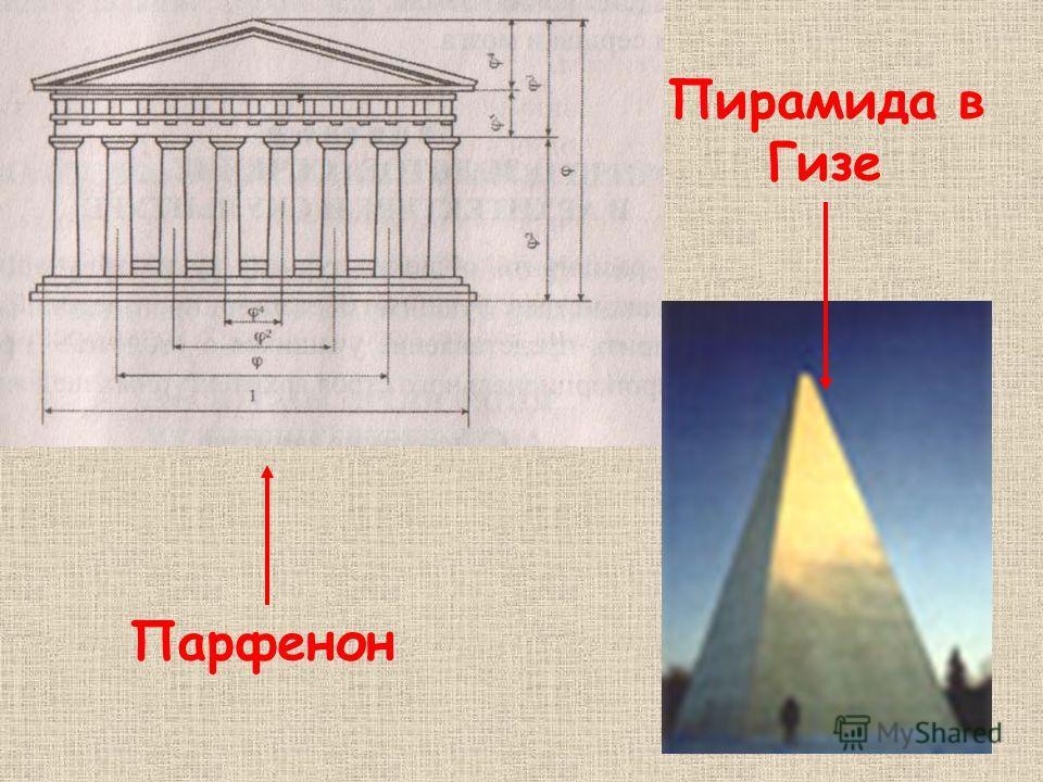 Парфенон Пирамида в Гизе