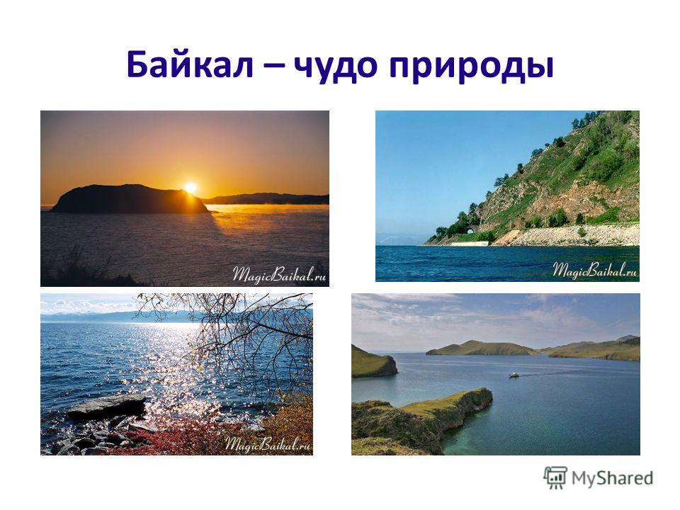 Байкал – чудо природы