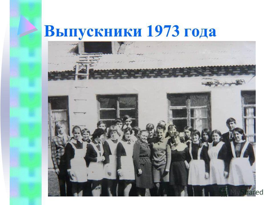 Выпускники 1973 года