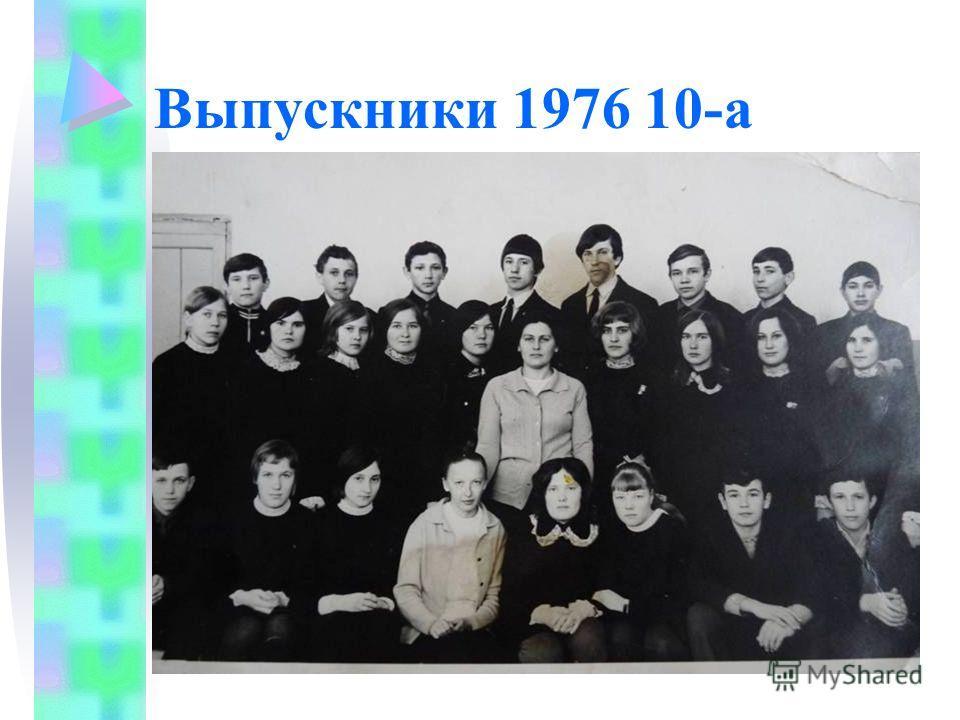 Выпускники 1976 10-а