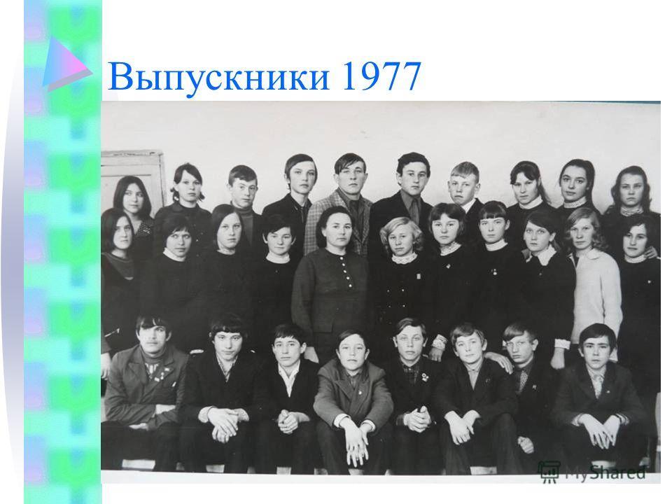 Выпускники 1977