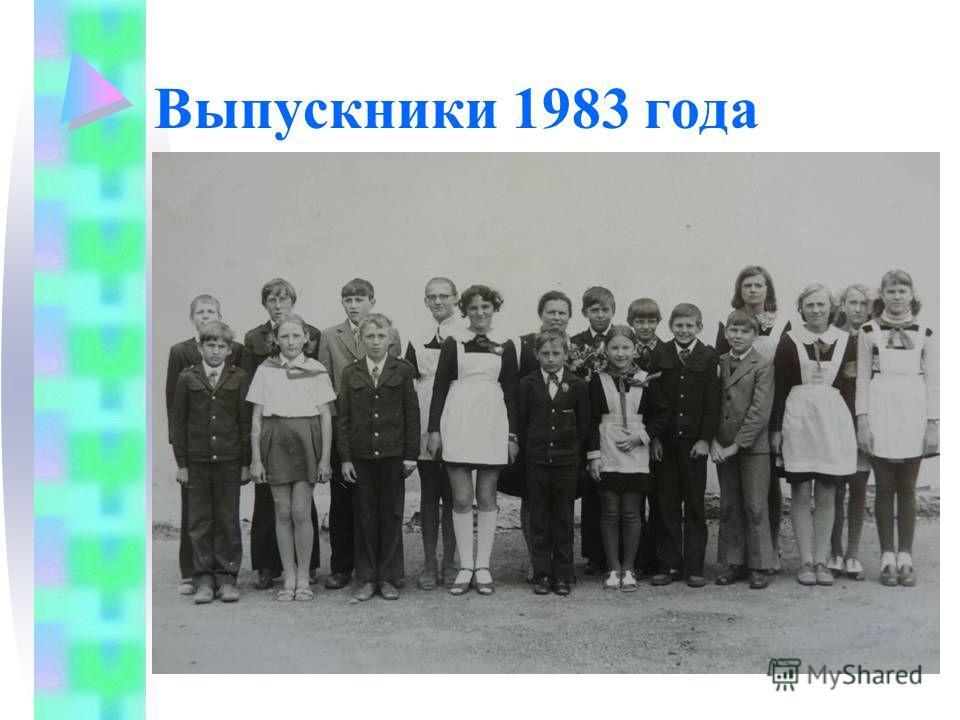 Выпускники 1983 года