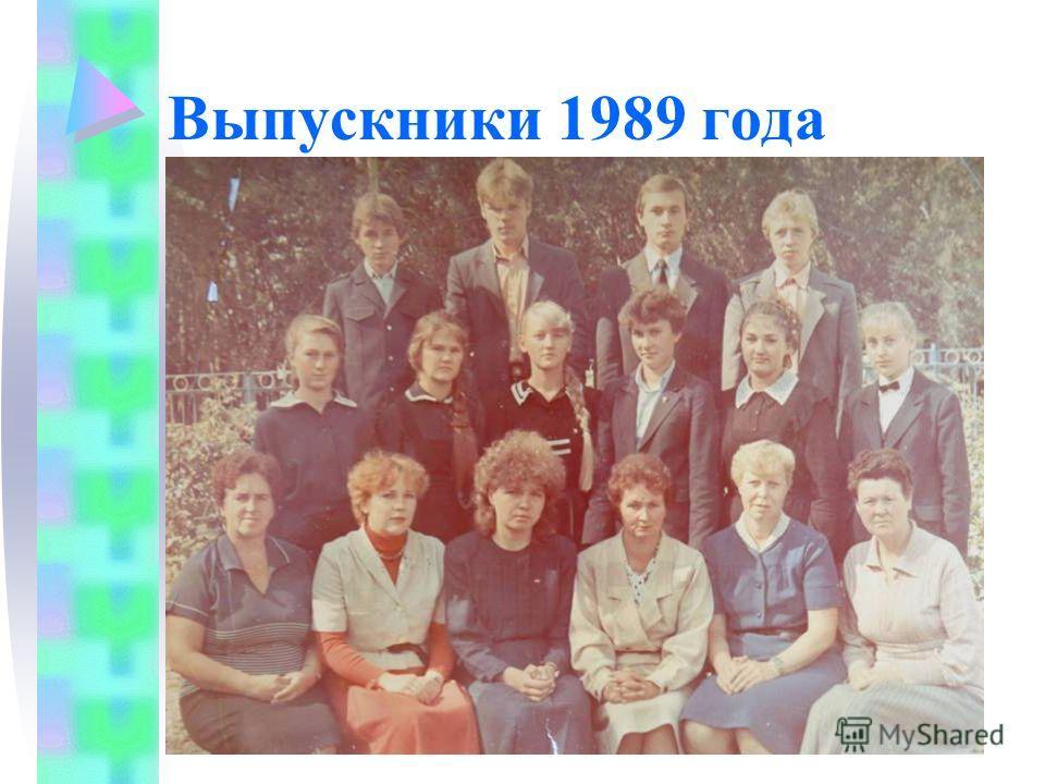 Выпускники 1989 года