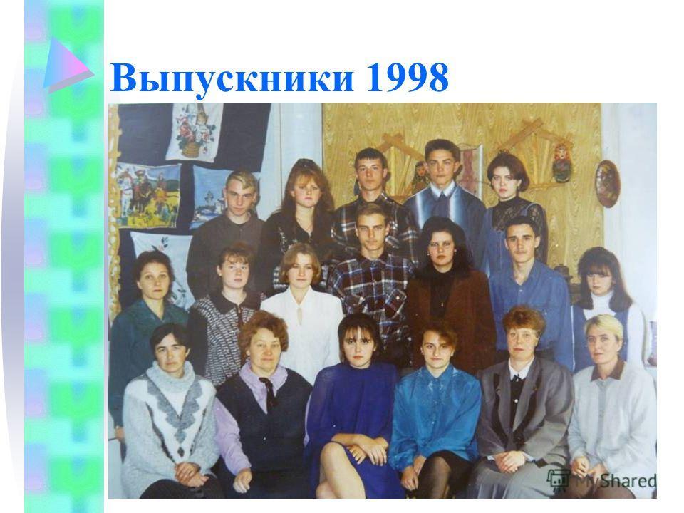 Выпускники 1998