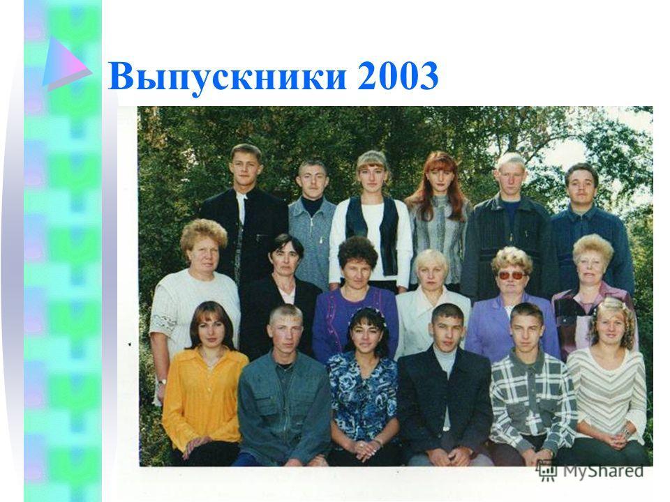 Выпускники 2003