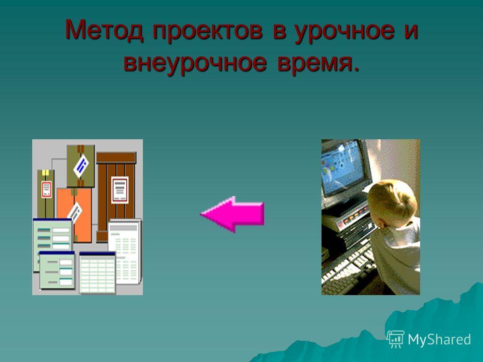 Метод проектов в урочное и внеурочное время.
