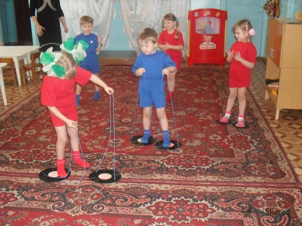 Как сделать спортивный инвентарь для детского сада 54
