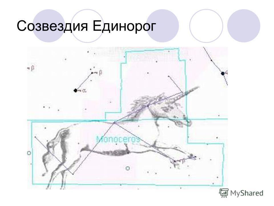 Созвездия Единорог