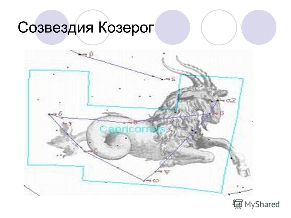 Созвездия Козерог