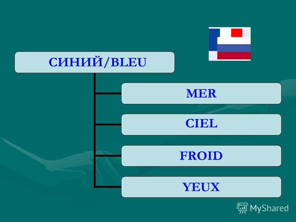 СИНИЙ/BLEU MER CIEL FROID YEUX