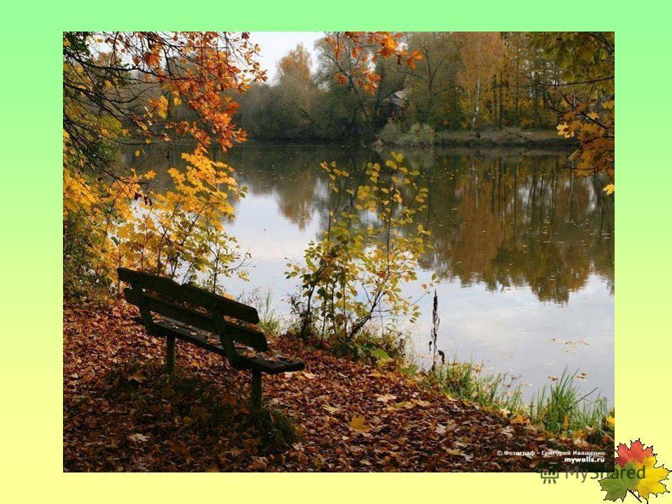 Коли ясно, то и осень прекрасна. Осень идёт и дождь с собой ведёт. Сентябрь - месяц птичьих стай.
