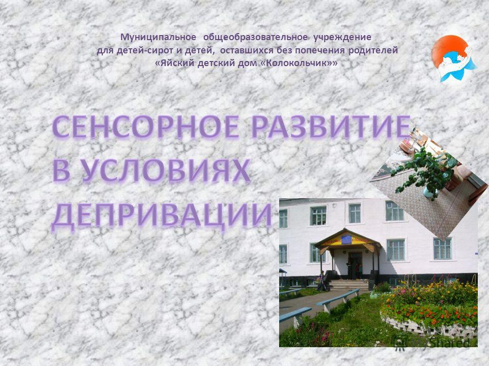 Муниципальное общеобразовательное учреждение для детей-сирот и детей, оставшихся без попечения родителей «Яйский детский дом «Колокольчик»»