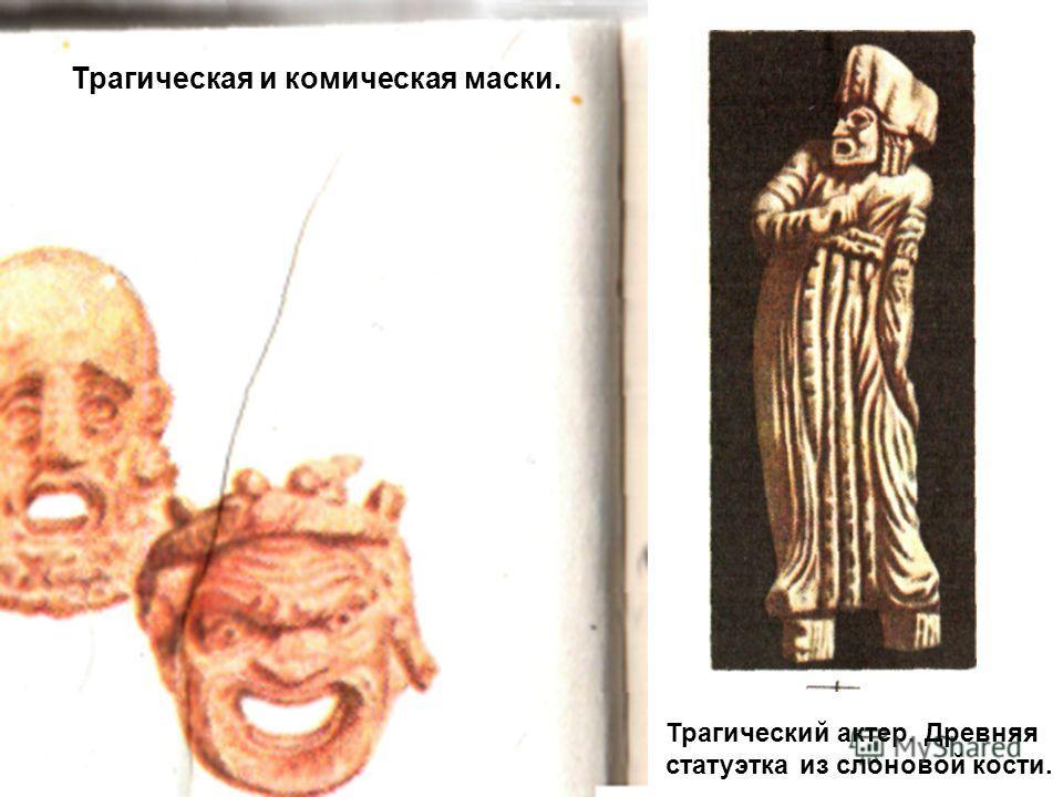 Геракл-обжора. Древнегреческая статуэтка. Театральные маски