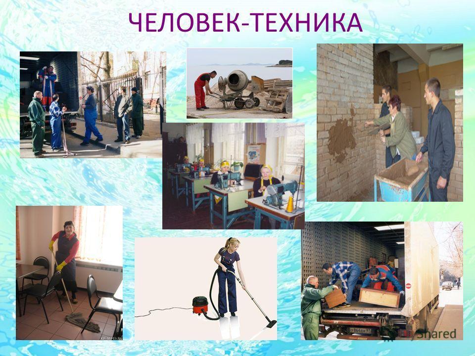 ЧЕЛОВЕК-ТЕХНИКА