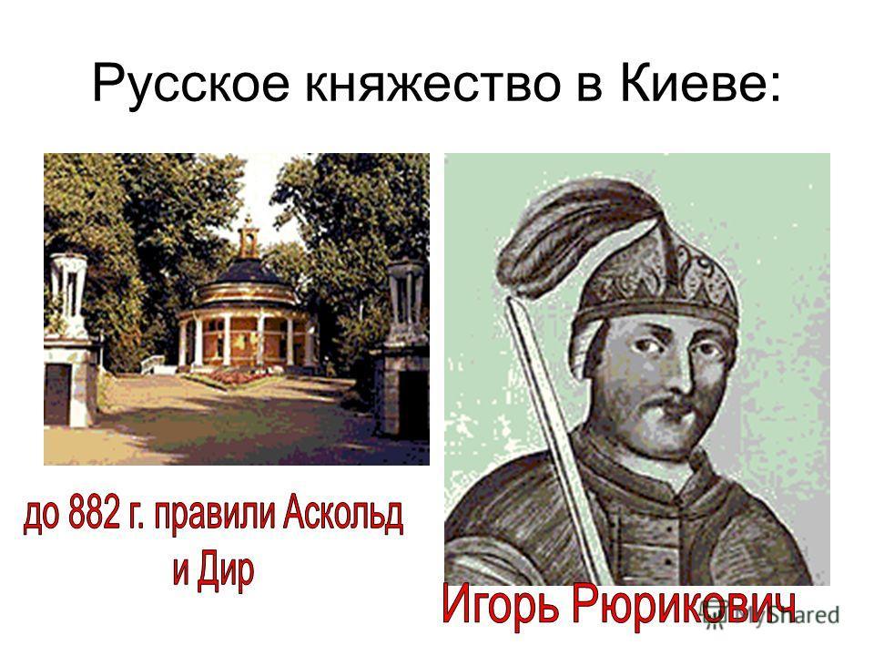 Русское княжество в Киеве: