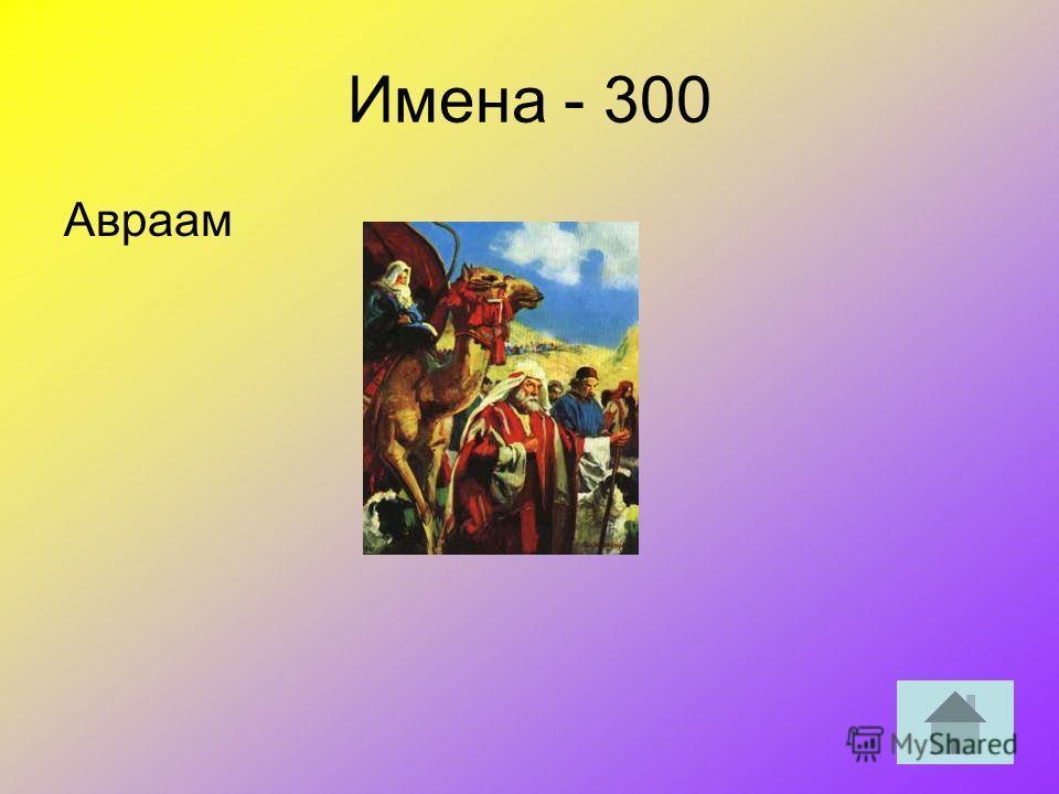 Имена - 300 Авраам