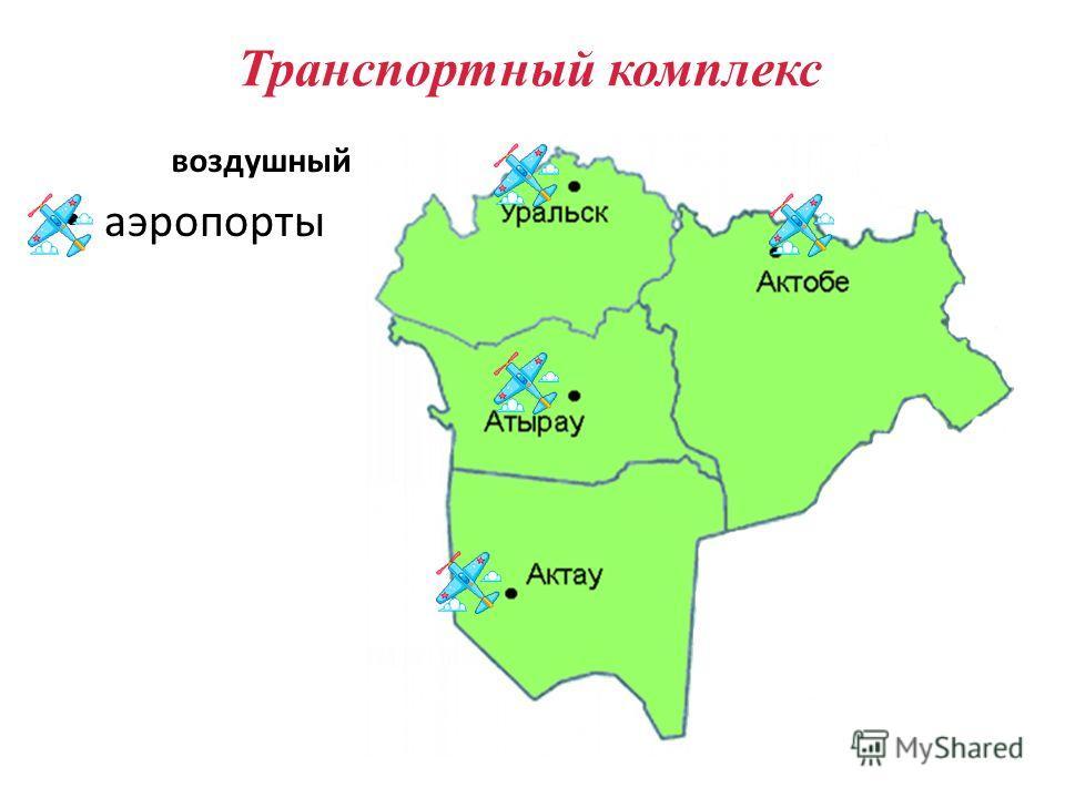 аэропорты Транспортный комплекс воздушный