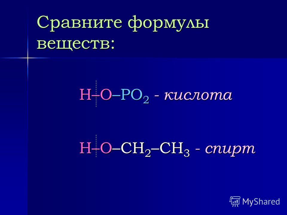 Спирты Пильникова Н.Н.