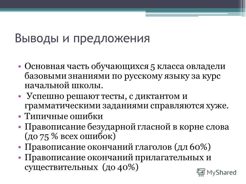 по русскому языку за курс