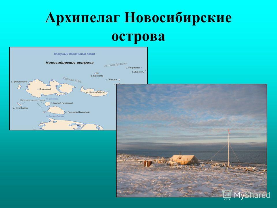 Архипелаг Новосибирские острова