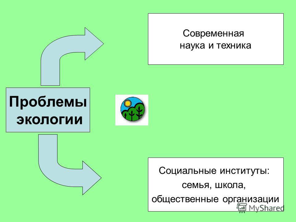Проблемы экологии Современная наука и техника Социальные институты: семья, школа, общественные организации
