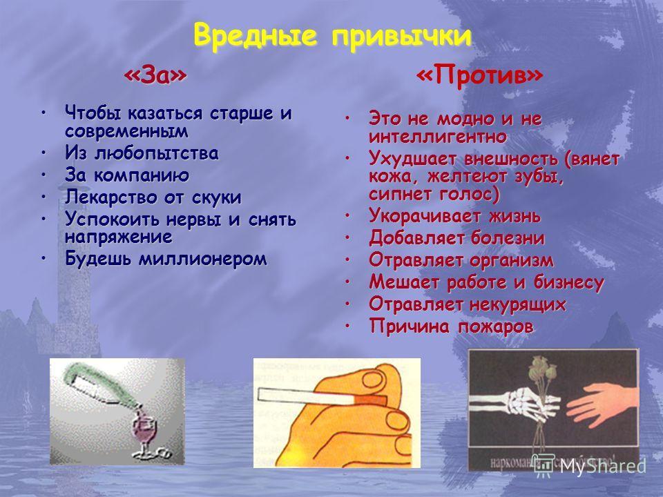 Презентация на тему Привычки полезные и вредные Бедность от лени  3 Царство вредных привычек сквернословиеигромания наркомания пьянство курение