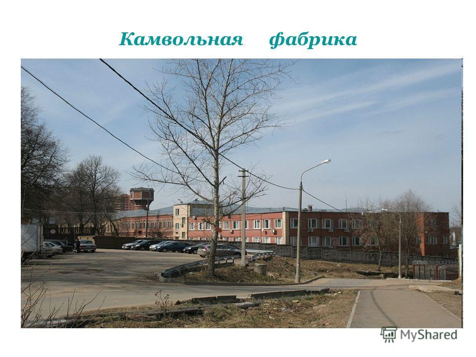 Камвольная фабрика