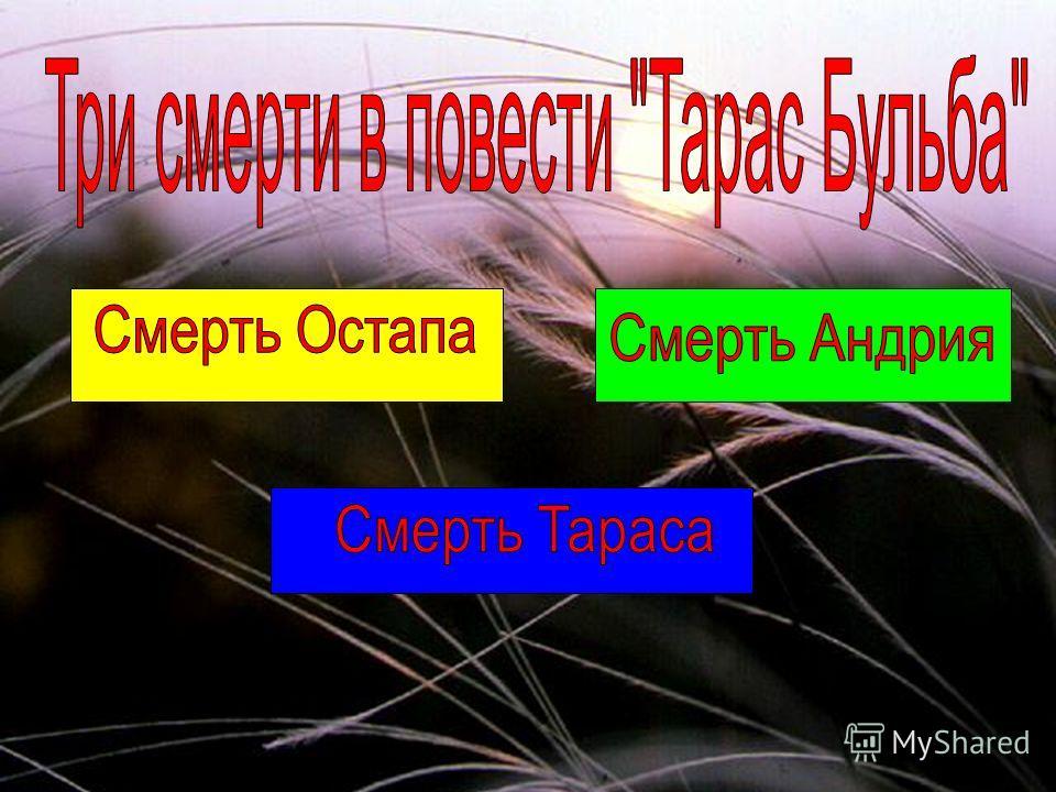 Остап и Андрий в Запорожской Сечи
