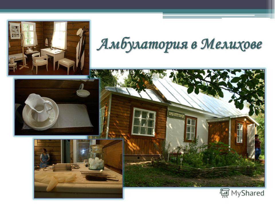 Амбулатория в Мелихове