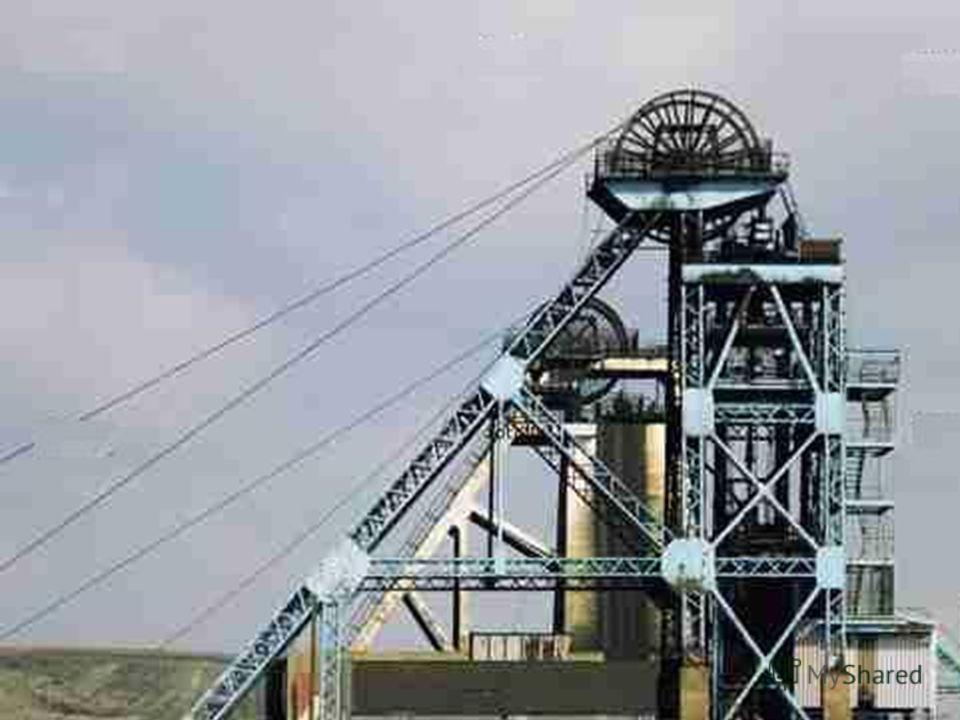 Вставка фильма о работе в шахте