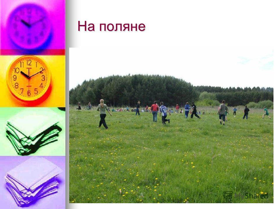 На поляне