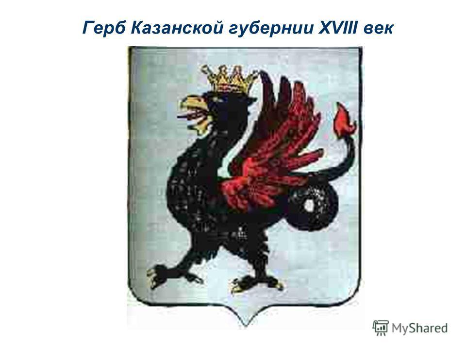 Герб Казанской губернии XVIII век